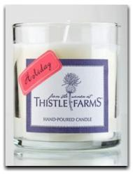 thistle-candle