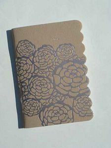 Nantaka Joy's Notebook, platinum florals