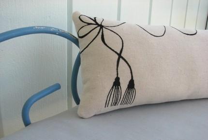 chakra tassel pillow