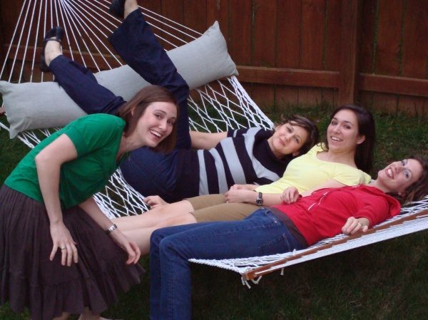 The hammock makes its season premiere!