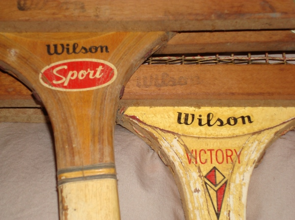 old Wilson tennis rackets