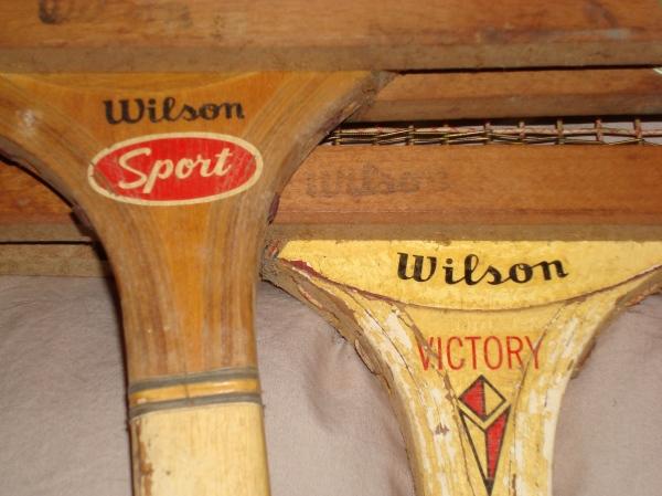 old Wilson tennis rackets