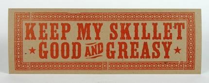keep my skillet