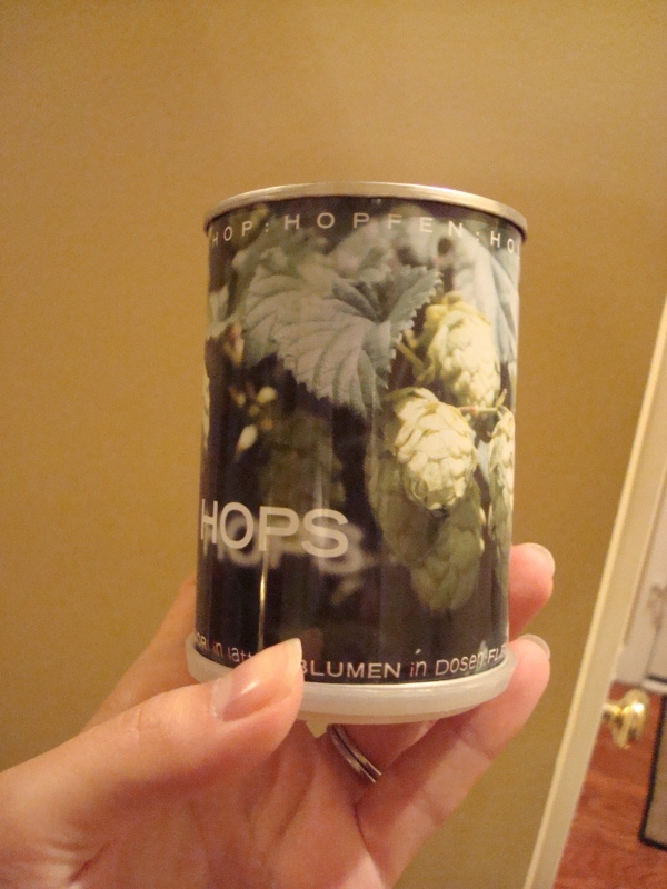canned hops