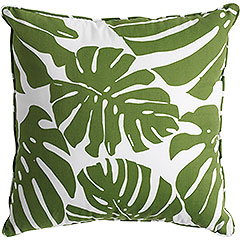pier1 monstera leaf pillow