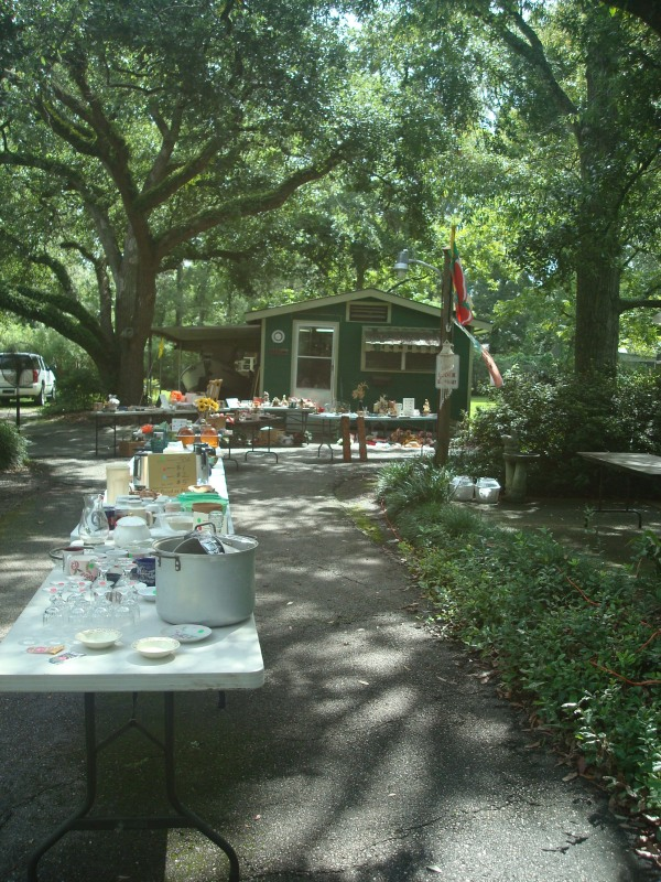 yard sale spread