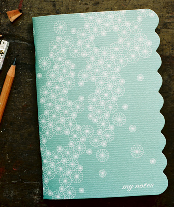 pinwheel notebook