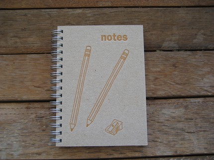 small notes journal by small square
