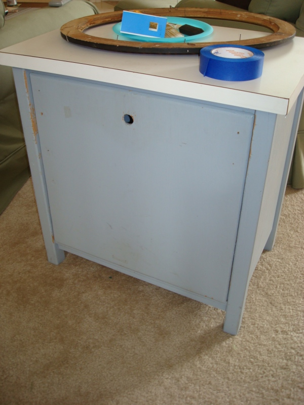 before: nightstand