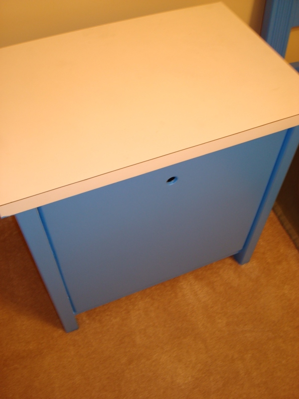 AFTER: only nightstand