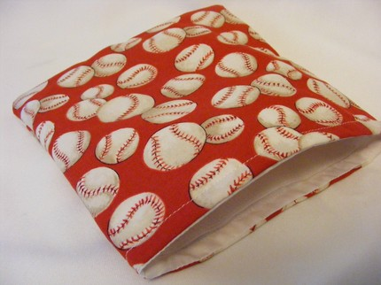 baseball snack bag