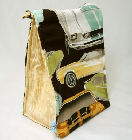 vintage car bag