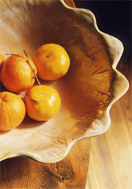 r wood scallop bowl