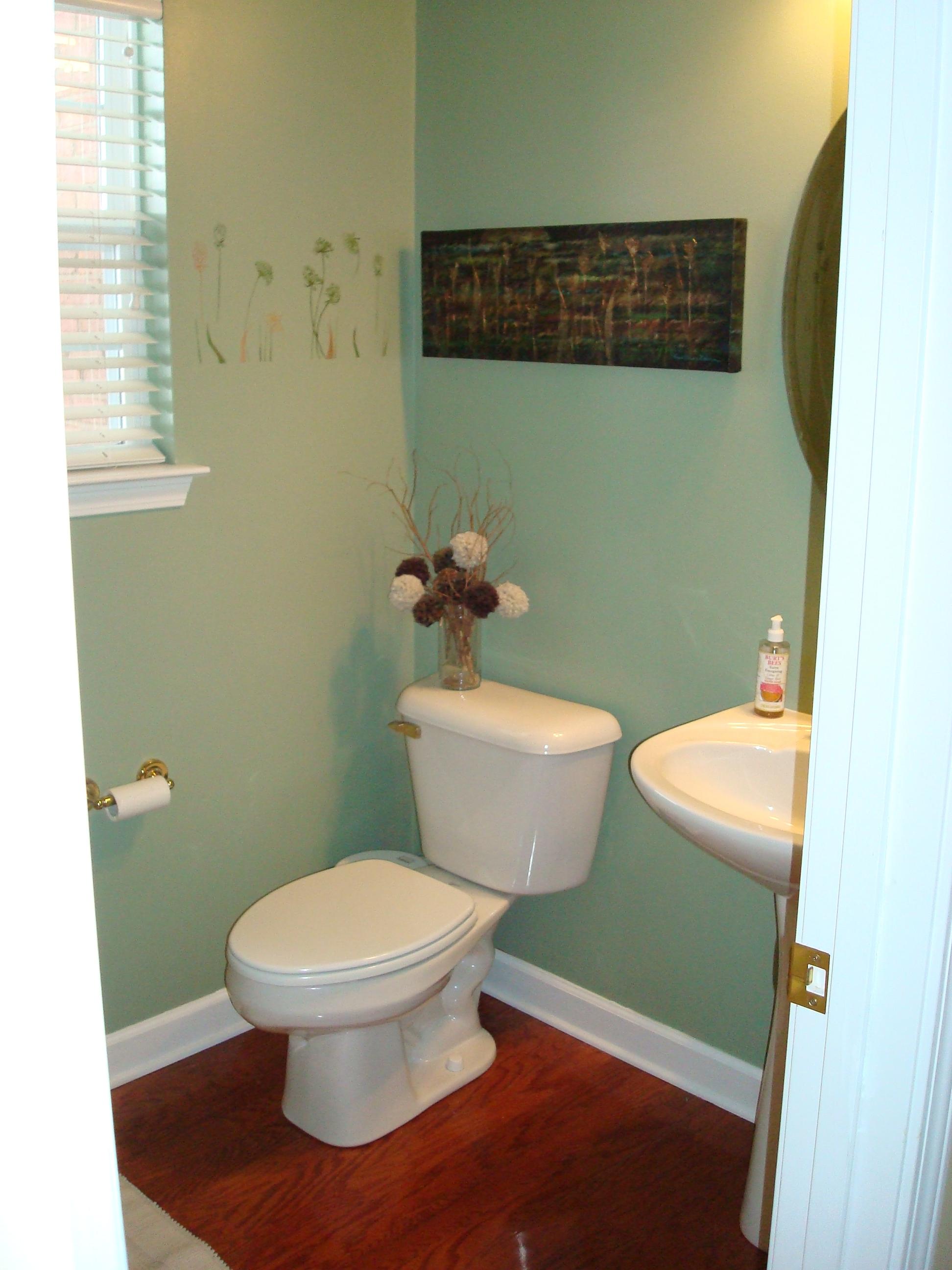 Purple And Teal Bathroom