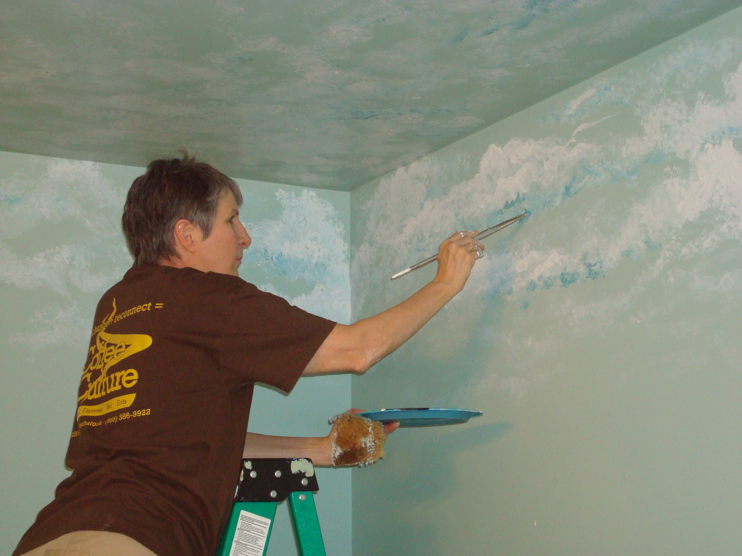 Diy Cloud Wall Murals Kate Schmate